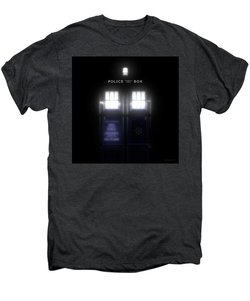 The Glass Police Box Men's Premium T-Shirt