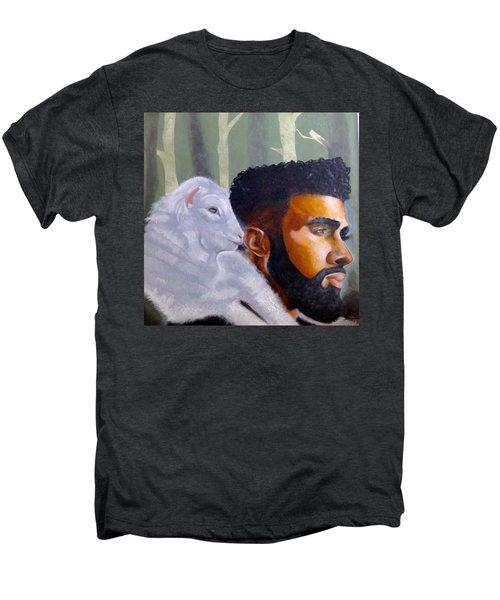 The Good Shepherd  Men's Premium T-Shirt