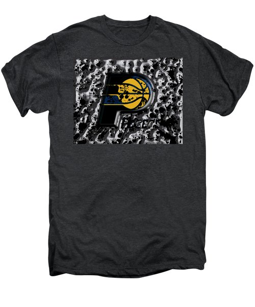 The Indiana Pacers Men's Premium T-Shirt by Brian Reaves