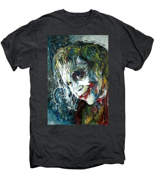 The Joker - Heath Ledger Men's Premium T-Shirt