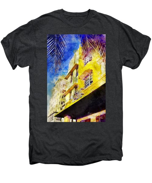 The Leslie Hotel South Beach Men's Premium T-Shirt