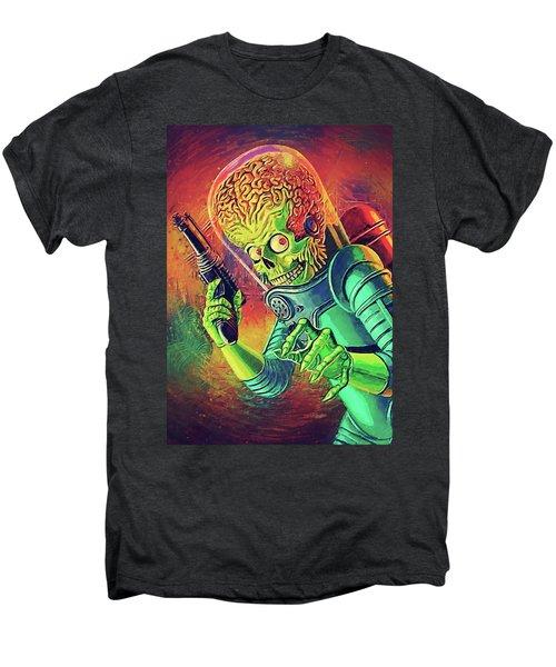 The Martian - Mars Attacks Men's Premium T-Shirt by Taylan Apukovska