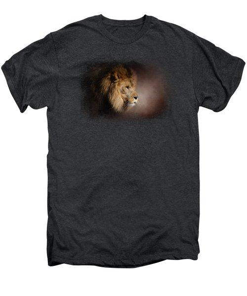 The Mighty Lion Men's Premium T-Shirt by Jai Johnson