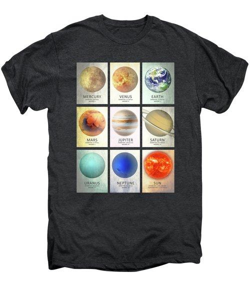 The Planets Men's Premium T-Shirt