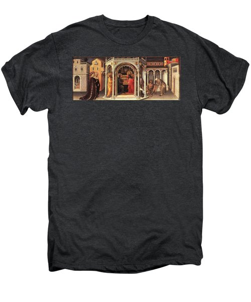 The Presentation In The Temple Men's Premium T-Shirt by MotionAge Designs