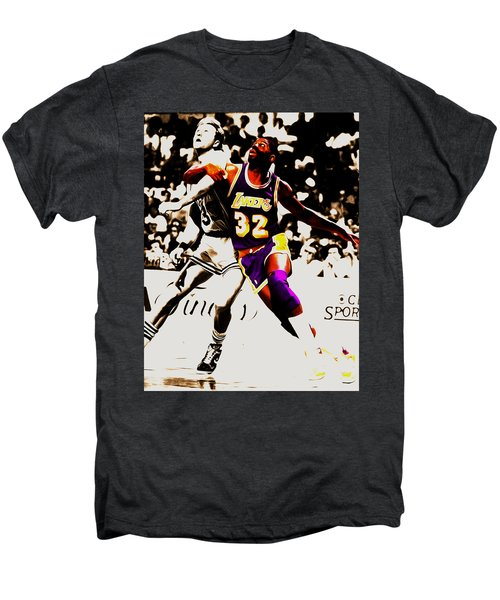 The Rebound Men's Premium T-Shirt by Brian Reaves