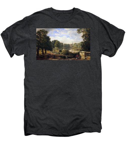 The Serpentine Men's Premium T-Shirt by Jasper Francis Cropsey