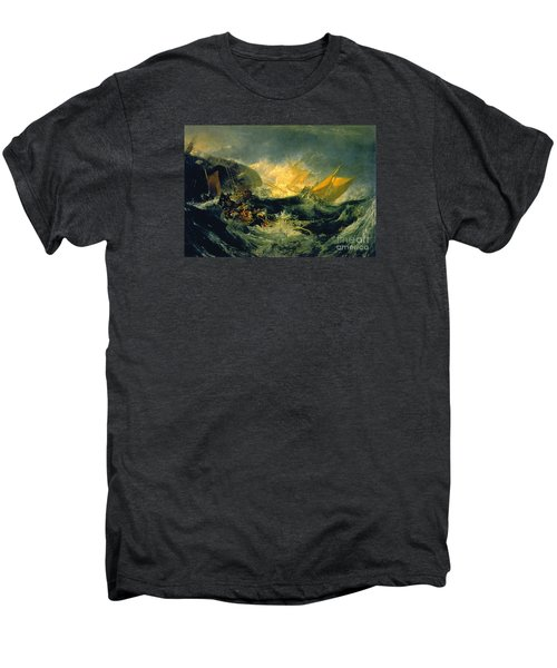 The Shipwreck Of The Minotaur Men's Premium T-Shirt by MotionAge Designs
