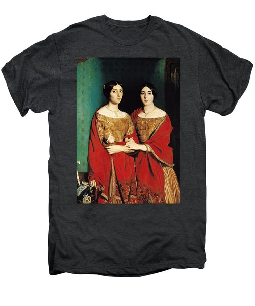 The Two Sisters Men's Premium T-Shirt by Theodore Chasseriau