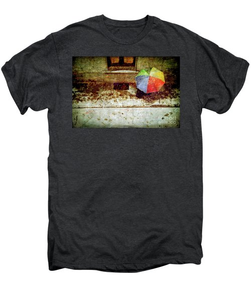 The Umbrella Men's Premium T-Shirt by Silvia Ganora