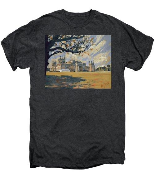 The White Party Tent Along Blenheim Palace Men's Premium T-Shirt