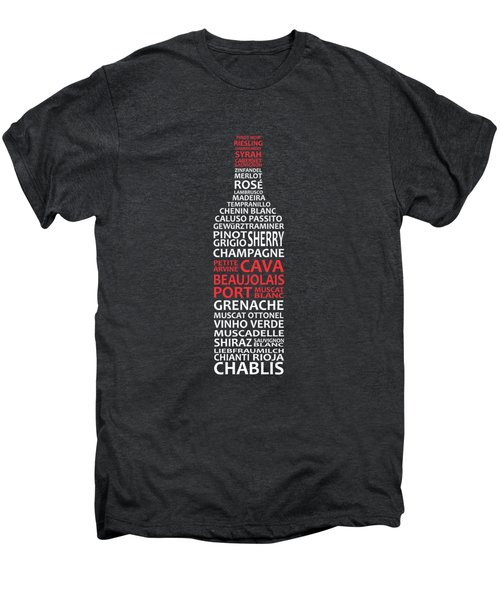 The Wine Connoisseur Men's Premium T-Shirt by Mark Rogan