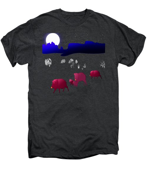 They Walk By Night Men's Premium T-Shirt by Methune Hively