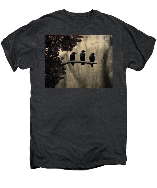 Three Ravens Branch Out Men's Premium T-Shirt