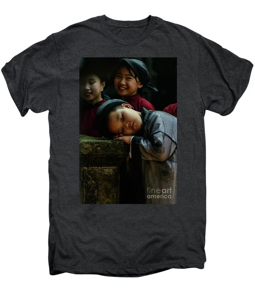Tired Actor Men's Premium T-Shirt by Werner Padarin
