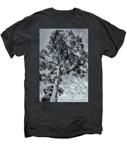 Men's Premium T-Shirt featuring the photograph Towering by Linda Lees