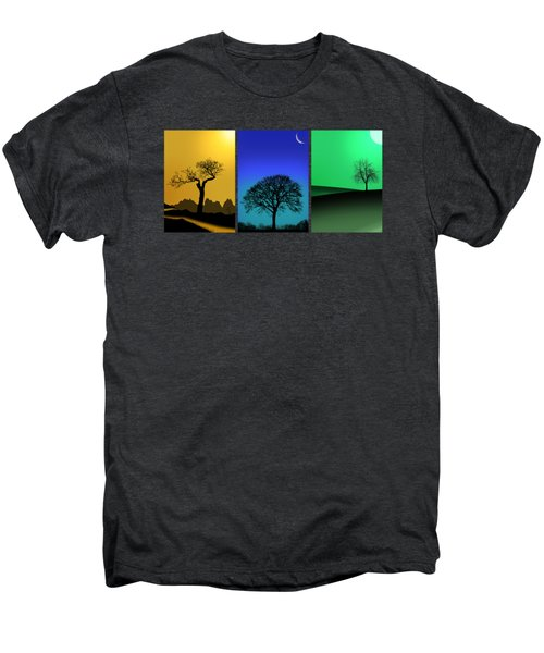 Tree Triptych Men's Premium T-Shirt
