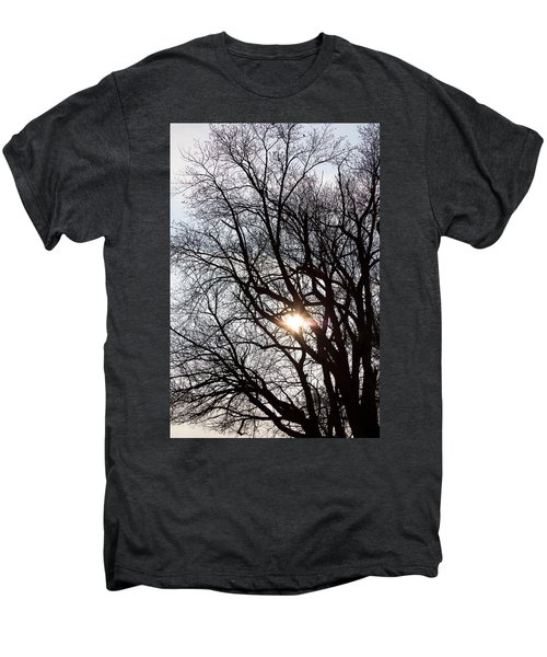 Men's Premium T-Shirt featuring the photograph Tree With A Heart by James BO Insogna