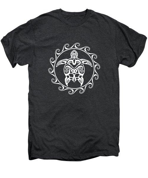 Tribal Maori Sun Turtle Men's Premium T-Shirt