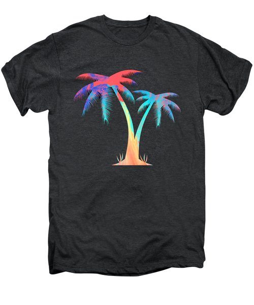 Tropical Palm Trees Men's Premium T-Shirt