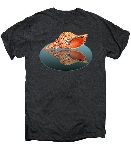 Trumpet Triton Reflection Men's Premium T-Shirt by Gill Billington
