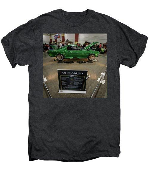 Men's Premium T-Shirt featuring the photograph Untamed by Randy Scherkenbach