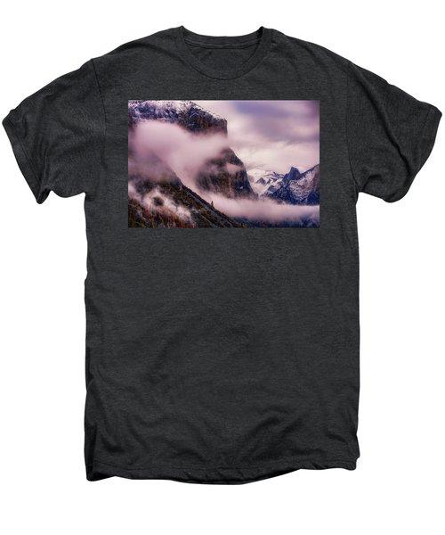 Valley Mood, Yosemite Men's Premium T-Shirt by Vincent James