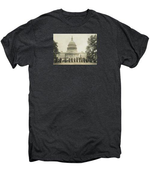 Vintage Motorcycle Police - Washington Dc  Men's Premium T-Shirt