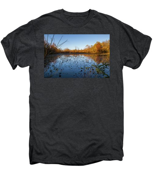 Water Lily Evening Serenade Men's Premium T-Shirt