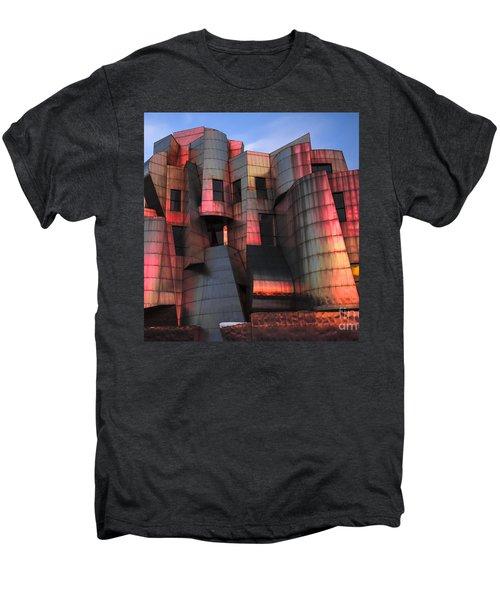 Weisman Art Museum At Sunset Men's Premium T-Shirt