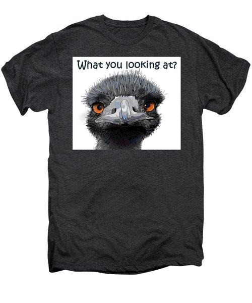 What You Looking At? Men's Premium T-Shirt