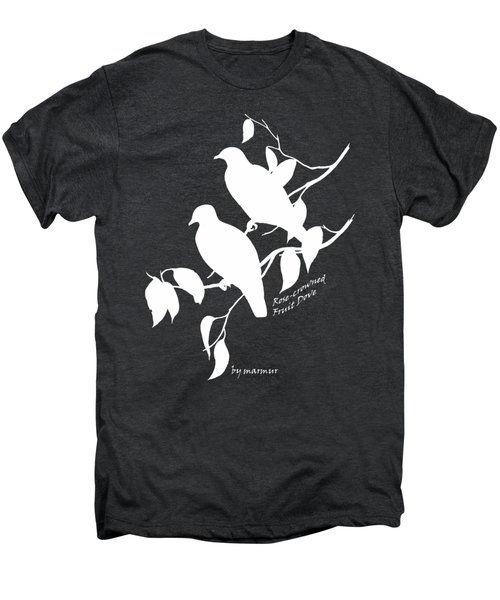 White Doves Men's Premium T-Shirt by The one eyed Raven