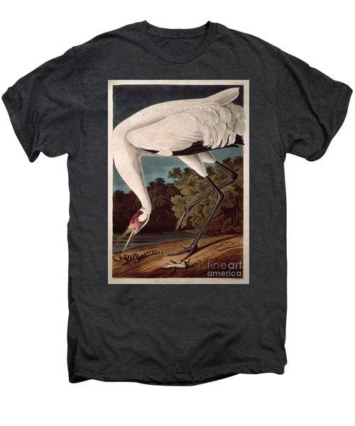 Whooping Crane Men's Premium T-Shirt