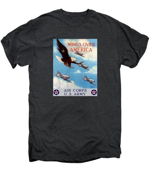 Wings Over America - Air Corps U.s. Army Men's Premium T-Shirt