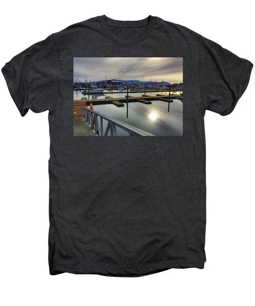 Winter Harbor Men's Premium T-Shirt