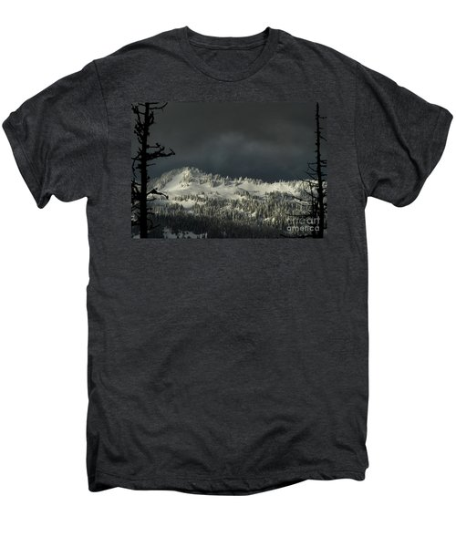 Winter In North Cascades Men's Premium T-Shirt