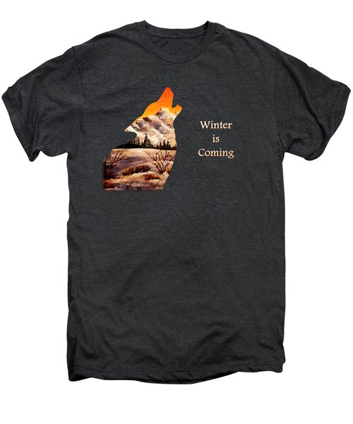 Winter Is Coming Men's Premium T-Shirt