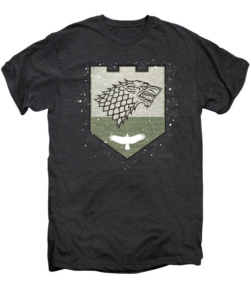 Winter Is Here Stark Banner Men's Premium T-Shirt