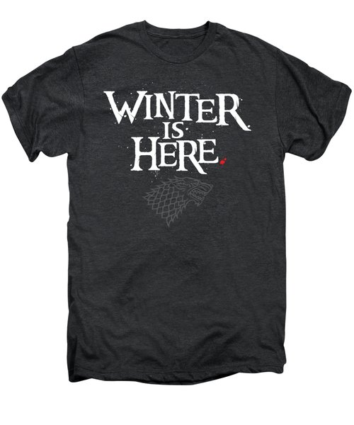 Winter Is Here - Stark Sigil Men's Premium T-Shirt