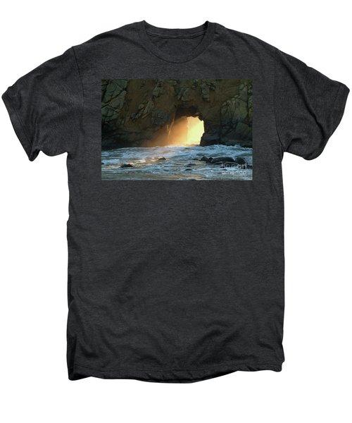 Winter Solstice Sunset In Big Sur Men's Premium T-Shirt