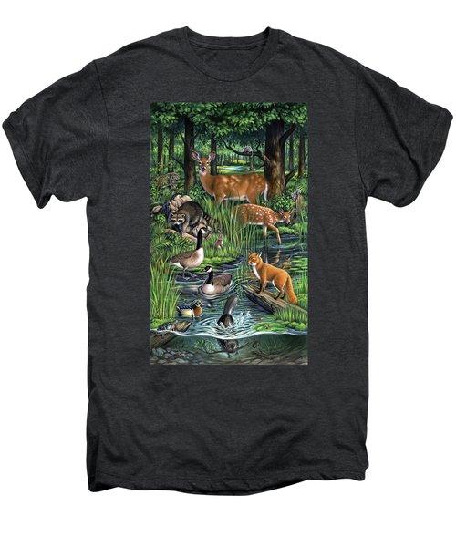 Woodland Men's Premium T-Shirt
