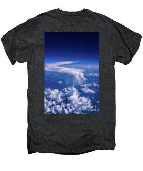Writing In The Sky Men's Premium T-Shirt
