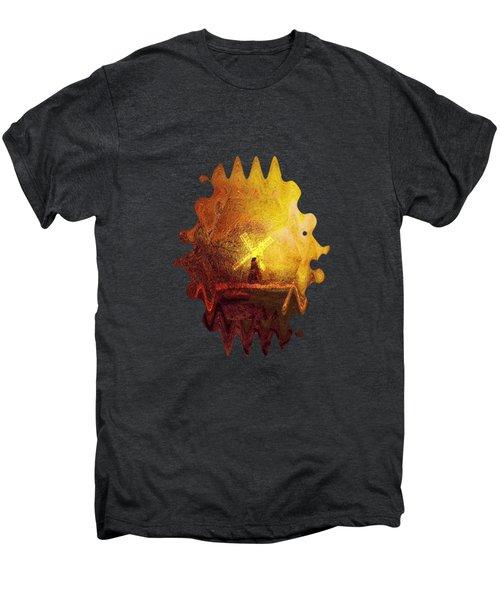 Ye Olde Mill Men's Premium T-Shirt by Valerie Anne Kelly