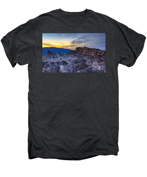 Zabriskie Point Sunset Men's Premium T-Shirt