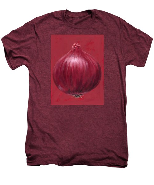 Red Onion Men's Premium T-Shirt by Brian James