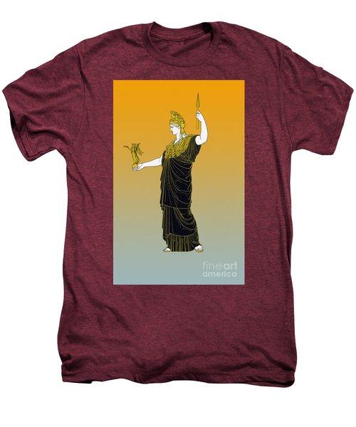 Athena, Greek Goddess Men's Premium T-Shirt by Photo Researchers