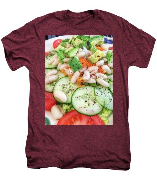 Freshly Made Salad Men's Premium T-Shirt by Tom Gowanlock