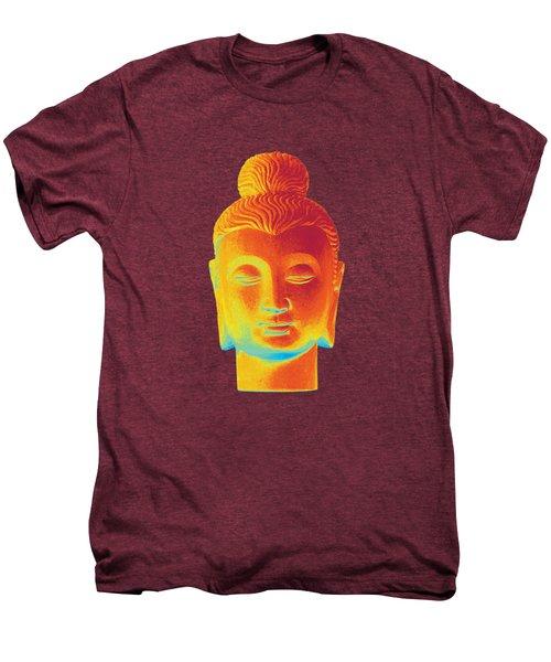 colorful Buddha - Gandhara Men's Premium T-Shirt by Terrell Kaucher