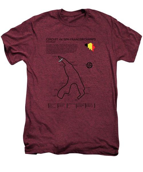 Spa Francorchamps Men's Premium T-Shirt by Mark Rogan