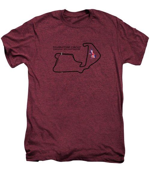 Silverstone Circuit Men's Premium T-Shirt by Mark Rogan